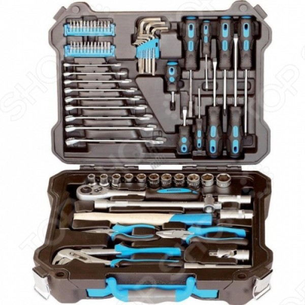 ОН3962 Набор инструментов профессионального качества, для автомобиля,73 предмета.