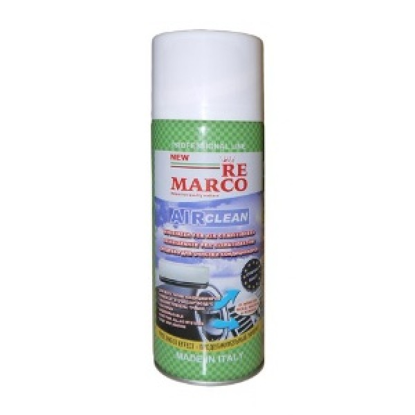 УТ-00000359 Очиститель кондиционера RE MARCO. Аэрозоль. Аромат-ВАНИЛЬ.