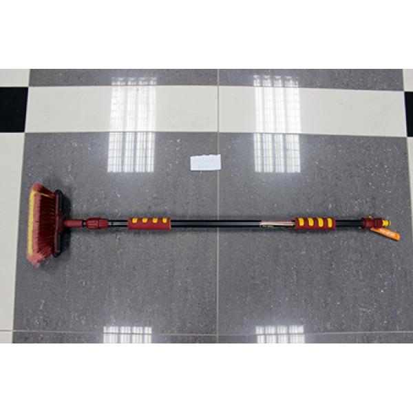 MS-0600new Щетка 2-х секционная с краном подачи воды и телескопической ручкой. MS-0600new