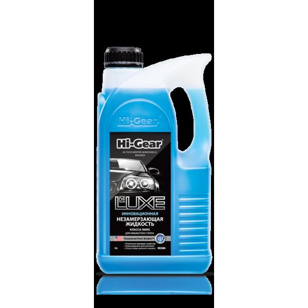HG5686 Инновационная незамерзающая жидкость DeLuxe класса Люкс для омывателя стекла до -25 град.