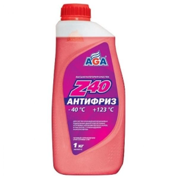 AGA001Z Антифриз, готовый к применению, КРАСНЫЙ, -40С.