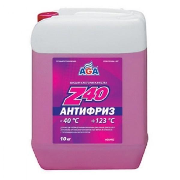AGA003Z  Антифриз, готовый к применению, КРАСНЫЙ, -40С.
