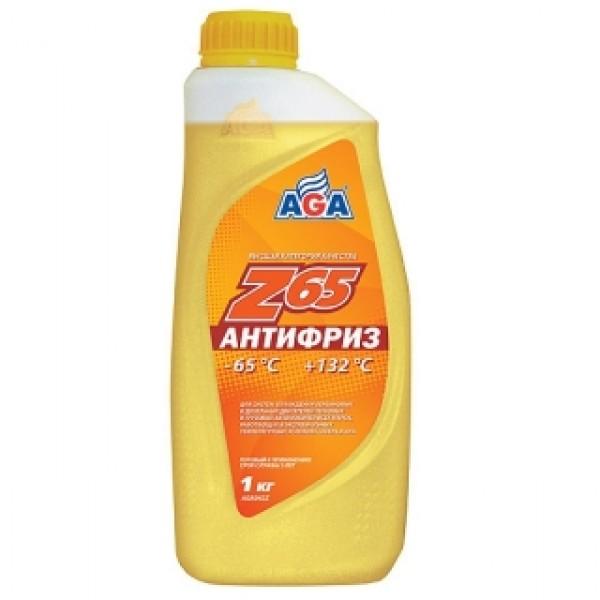 AGA042Z Антифриз, готовый к применению, ЖЕЛТЫЙ, -65С.