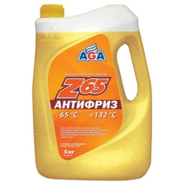 AGA043Z Антифриз, готовый к применению, ЖЕЛТЫЙ, -65С.