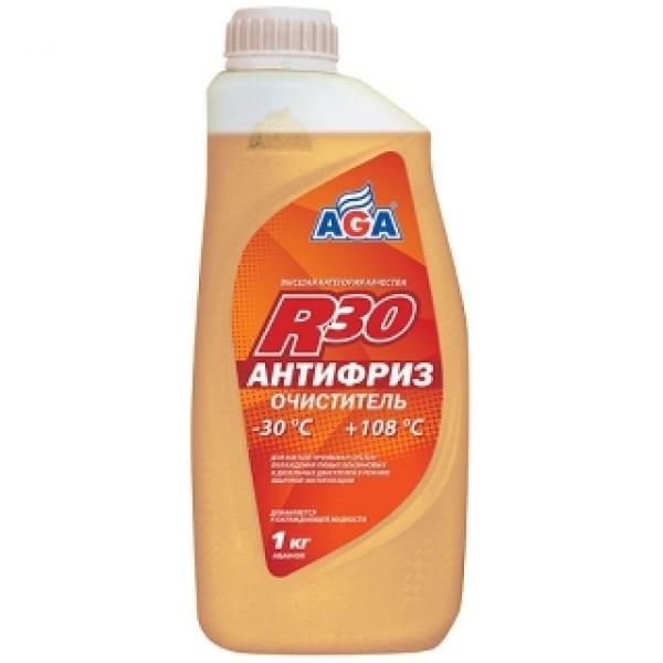 AGA045R  Антифриз-очиститель, готовый к применению, цвет нейтральный, -30С.