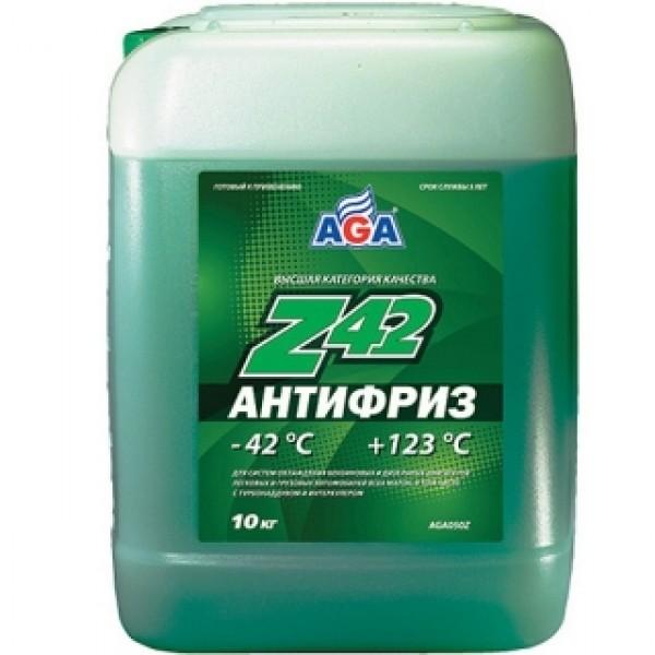 AGA050Z Антифриз, готовый к применению, ЗЕЛЕНЫЙ, -42С